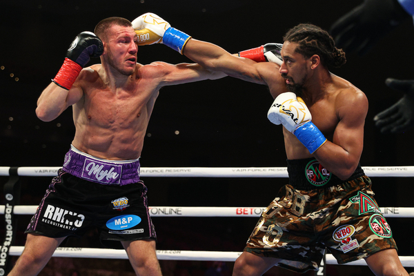 Demetrius Andrade turns back the brave challenge of Liam Williams