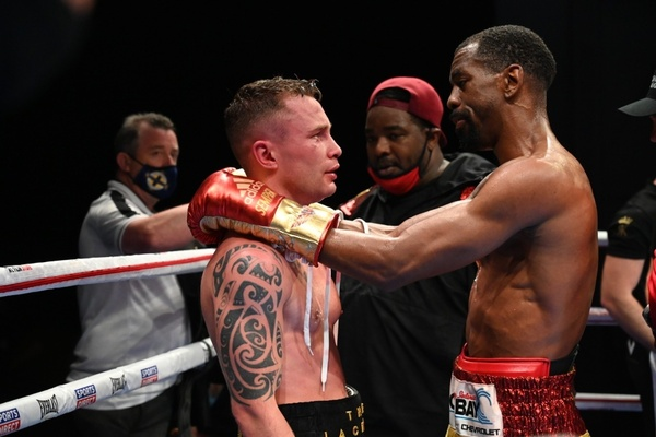 Class in session: Jamel Herring wins and Carl Frampton retires - and both do it with exceptional class and sportsmanship