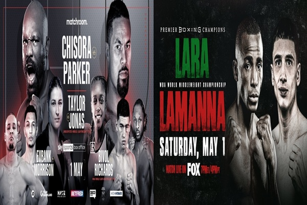 A peek at some of this weekend's boxing