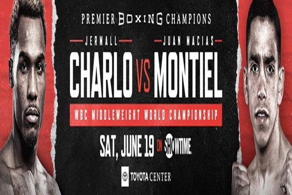 Jermall Charlo to defend middleweight title against Juan Macias Montiel June 19