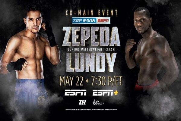 Exciting Jose Zepeda back in the ring May 22 against Hank Lundy