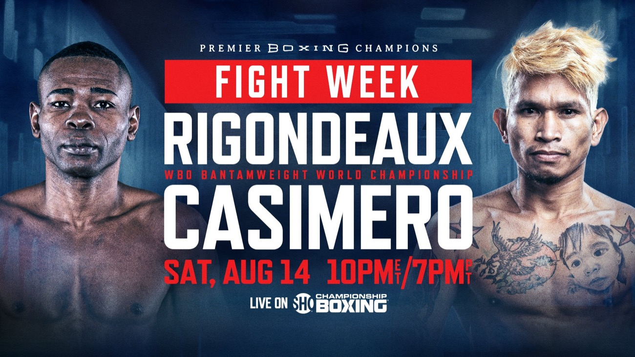 Watch Casimero Vs Rigondeaux 8/14/21